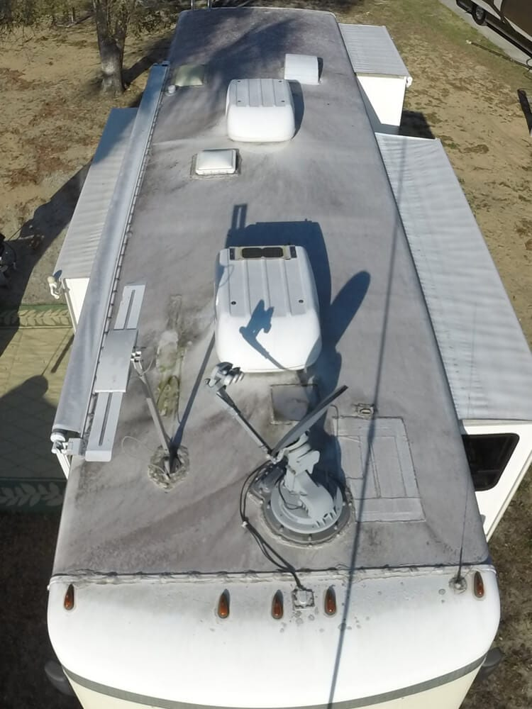 Before Amp After Roof Installation Photos Rv Armor